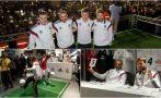 Real Madrid entrenó y disfrutó en actividad con aficionados