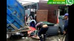 Costa Verde: denuncian mal recojo de basura frente a restaurant - Noticias de limpieza de playas
