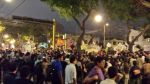 Marcha contra régimen juvenil: detenciones y represión policial - Noticias de miraflores