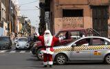 El policía que lleva 14 años interpretando a Papá Noel [Fotos]