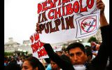 La marcha contra el régimen laboral juvenil en fotos
