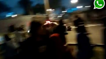 Video: patrullero impactó a joven que marchó en calles de Lima