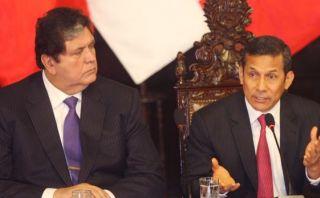 Ley laboral: Humala criticó a García por cambiar de opinión