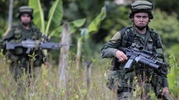 Colombia: Las FARC mataron a 5 militares en vísperas de tregua