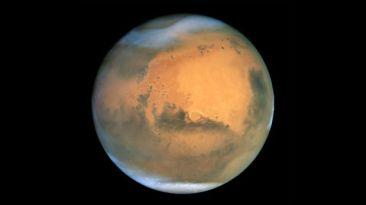 Marte podría esconder agua o hielo bajo su superficie