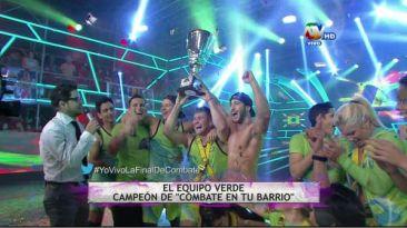 """""""Combate"""": El equipo verde campeonó esta temporada"""