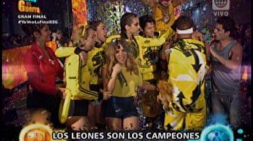 """""""Esto es guerra"""": Los Leones son los campeones de la temporada"""