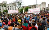 Estudiantes anuncian nueva marcha para el lunes
