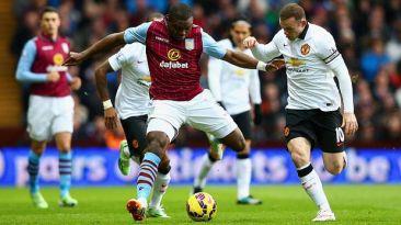Manchester United vs. Aston Villa: empatan 1-1 por la Premier