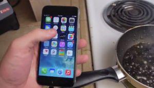 ¿Qué pasa cuando un iPhone 6 se hierve en Coca-Cola?