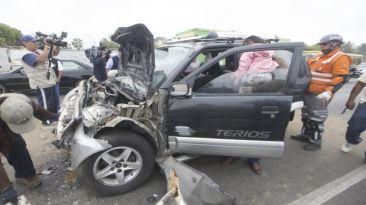 Este año hubo cerca de 20 mil accidentes de tránsito en Lima