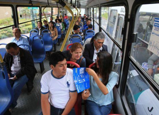 Corredor Javier Prado: buses circulan casi vacíos en primer día