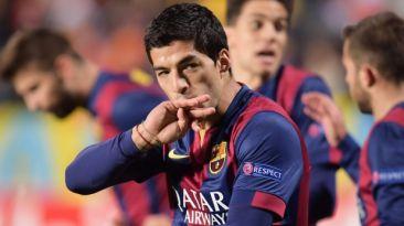 Luis Suárez anotó su primer gol con Barcelona en la Liga BBVA