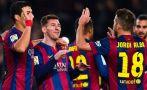 Barcelona goleó 5-0 a Córdoba con doblete de Messi