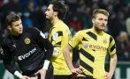 Borussia Dortmund perdió 2-1 y es penúltimo en la Bundesliga