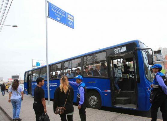 Corredor Javier Prado convocó a pocos pasajeros [FOTOS]