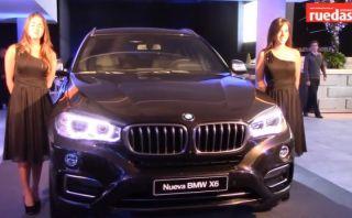BMW presentó la nueva X6 en el Perú