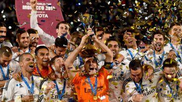 Real Madrid celebró así el título de Mundial de Clubes