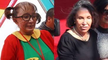 'Chilindrina' se disculpa por acusaciones a Florinda Meza