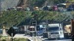 Restringen paso de camiones por la Carretera Central en fiestas - Noticias de mayor pnp
