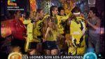 """""""Esto es guerra"""": Los Leones son los campeones de la temporada - Noticias de gino assereto"""