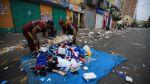 Las vías de Gamarra repletas de basura a cuatro días de Navidad - Noticias de alberto sanchez aizcorbe
