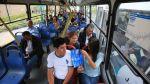 Corredor Javier Prado: buses circulan casi vacíos en primer día - Noticias de arequipa