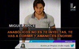 """""""Magaly"""": Miguel Arce confesó haber utilizado esteroides"""