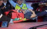 Surco: dos mujeres quedaron atrapadas en taxi luego de choque