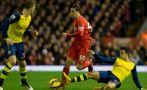 Liverpool vs. Arsenal: empatan 1-1 por la Premier League