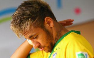 Neymar confesó haber llorado como un niño en el 7-1 a Brasil