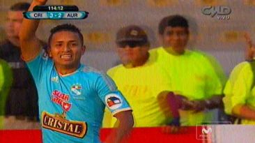 Cristal vs. Aurich: Edinson Chávez anotó el gol del título