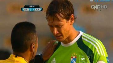 Diego Penny se golpeó la cabeza y olvidó que jugaba la final
