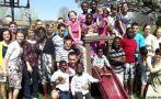 La familia estadounidense con 34 hijos que continúa creciendo