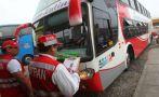 Viaje seguro: buses y choferes serán fiscalizados desde mañana
