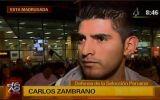 Zambrano criticó a Edwin Oviedo por despedir a Bengoechea