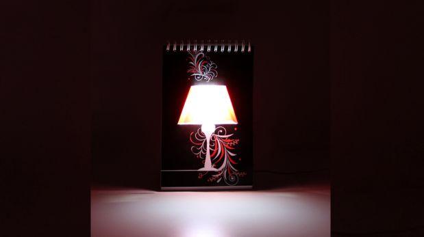 Dibuja tus propias lámparas y alumbra tu cuarto con este objeto ...