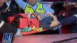 Surco: dos mujeres quedaron atrapadas en taxi tras choque - Noticias de accidentes