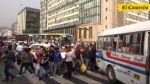 Ruidos en Av. Abancay llegan a niveles nocivos por fiestas - Noticias de contaminación