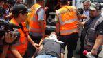 Comerciantes de Las Malvinas participaron de simulacro de sismo - Noticias de simulacro de sismo