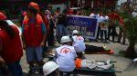 Comerciantes de Las Malvinas participaron de simulacro de sismo - Noticias de simulacro