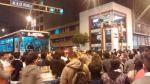 Metropolitano cambia rutas por marcha contra régimen juvenil - Noticias de