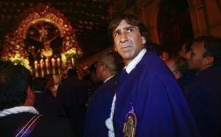 Costas agradeció a Señor de los Milagros por título en Colombia