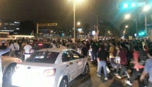 Régimen juvenil: marcha volvió a la Plaza San Martín