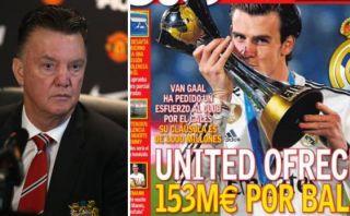 Gareth Bale: Manchester United pagaría una millonada por él