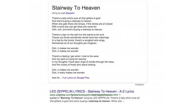 Ahora google quiere que cantes bien google tecnolog a for Cancion en el jardin del eden