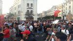 Así empezó la segunda marcha contra el régimen juvenil [FOTOS] - Noticias de