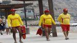 Policía: 500 salvavidas resguardarán playas desde el miércoles - Noticias de anita miller al fondo hay sitio