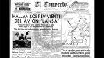 Así Ocurrió: En 1971 un avión de Lansa cae en la Selva peruana - Noticias de juliane koepcke