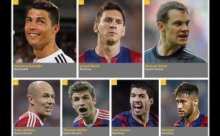 """Cristiano mejor que Messi en el 2014 según """"The Guardian"""""""